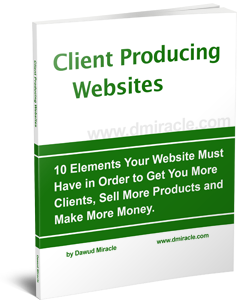 10 Elements your website must have in order to get you more clients, sell more products and make more money
